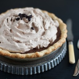 Decadent Chocolate Espresso Pie