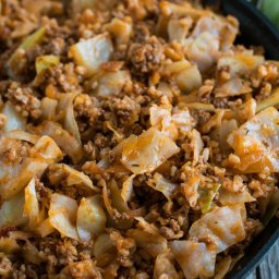 Deconstructed Stuffed Cabbage