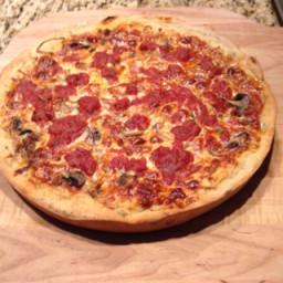 Pizza - Deep Dish  - Herbed