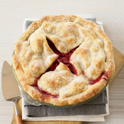 Deep-Dish Strawberry-Rhubarb Pie