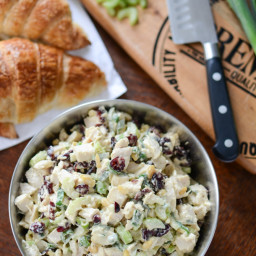 Deli-Style Cranberry Chicken Salad