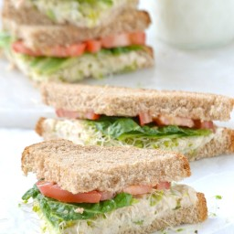Deli-Style Tuna Fish Salad Sandwich