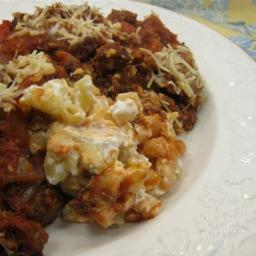 Delicious and Rich Ground Beef Sicilian Supper Casserole