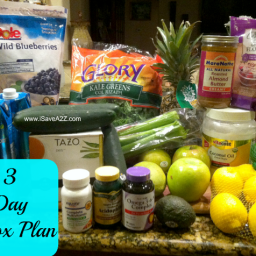 Detox Diet Drink (3 Day Plan)