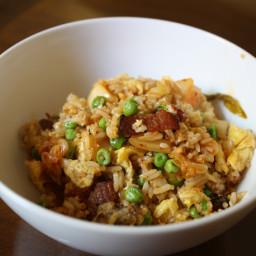 Dinner Tonight: Bacon and Kimchi Fried Rice
