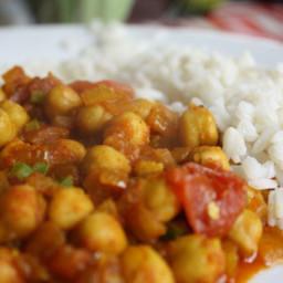 Dinner Tonight: Channa Masala