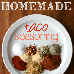 DIY Homemade Taco Seasoning