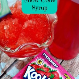 DIY Snow Cone Syrup Recipe