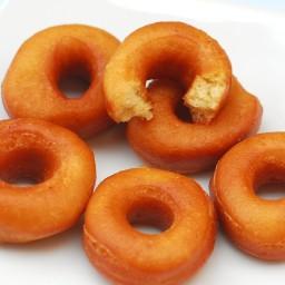 Donuts caseros sin leche y sin huevo con Thermomix®