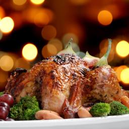 Dorothy's Garlic roast Turkey