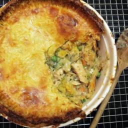 Double Crusted Chicken Pot Pie