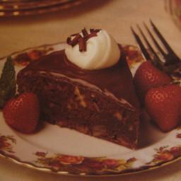 Double Decadent Brownie Torte