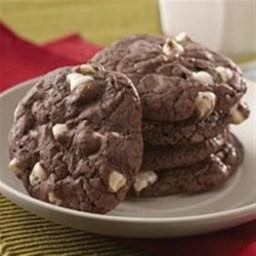Double Fudge Brownie Cookies