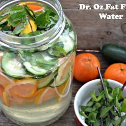 Dr. Oz Fat Flush Water