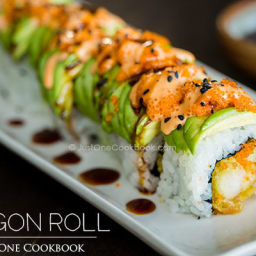 Dragon Roll Recipe
