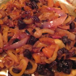 Dried Apricot and Prune Sautee