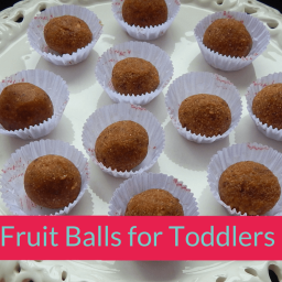 Dry Fruit Balls for Toddlers