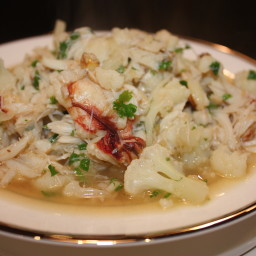 Dungeness Crab in Wine And Vermouth