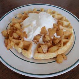 Easiest, Healthiest Waffles