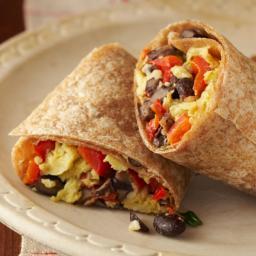 Easiest Pescetarian Burritos