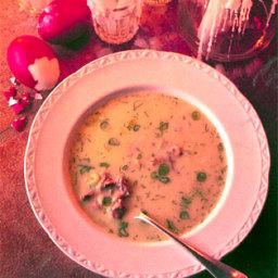 Easter Lamb Soup