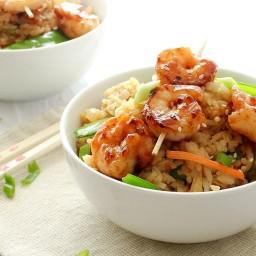 Easy 20 Minute Shrimp Fried Rice