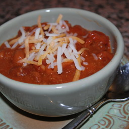 Easy 4 Can Beef Chili with Beans
