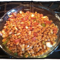 Easy Barbeque Baked Beans
