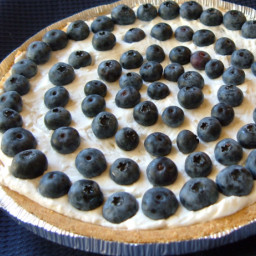 Easy Blueberry Cream Pie