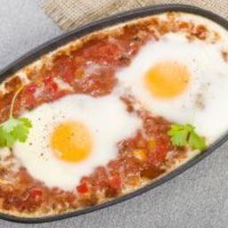 Easy Breakfast Huevos Rancheros