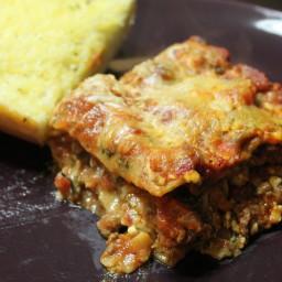 Easy Cheesy Lasagna
