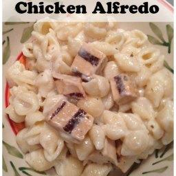 Easy Chicken Alfredo Recipe #BeyondMeat