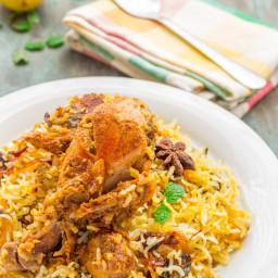 Easy Chicken Dum Biryani
