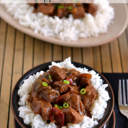 Easy Crock Pot Pepper Steak