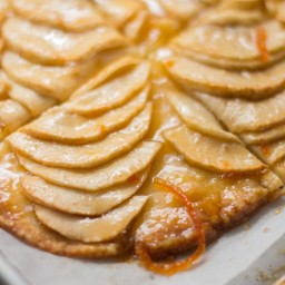 Easy French Apple Tart / Rustic Apple Tart