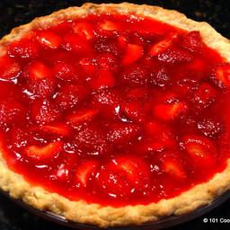 Easy Fresh Strawberry Pie Just Like Big Boy