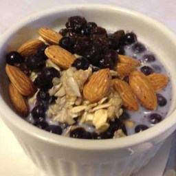 Easy Fruited Oats Breakfast