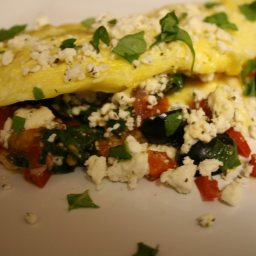Easy Greek Omelet