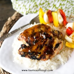 Easy Grilled Teriyaki Chicken