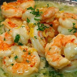 Easy & Healthy Shrimp....No Butter (uses chicken broth, white wine, lemon j