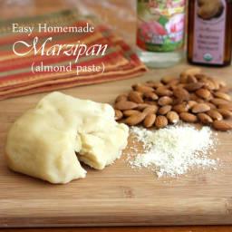 Easy Homemade Marzipan