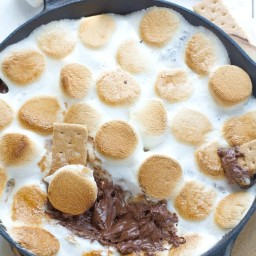 Easy Indoor S'mores Dip - 3 Ways