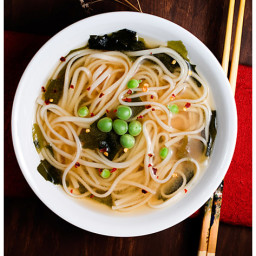 Easy Miso Udon Soup