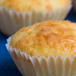 Easy peasy Cheddar Cheese Muffins