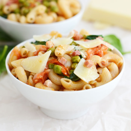 Easy Peasy Pancetta Pasta