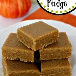 Easy Pumpkin Pie Fudge