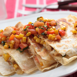Easy & Quick Chicken Quesadillas
