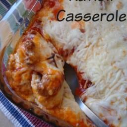 Easy Ravioli Casserole