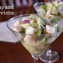 Easy Shrimp and Avocado Ceviche