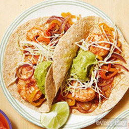 Easy Shrimp Fajitas